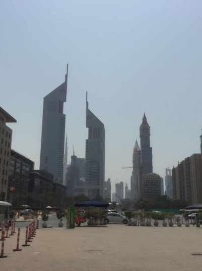 Dubai Skyline for the LED industrial lighting trip