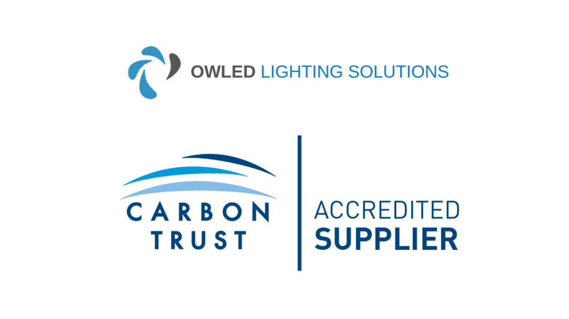 Owled Carbon Trust Accreditation for LED industrial lighting