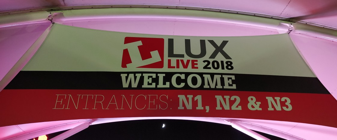 Lux Live Banner Industrial Lighting