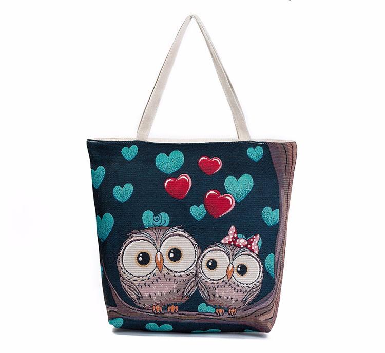 Cartoon Owl Shoulder Bag  OwlFanWorld
