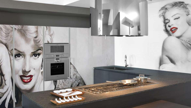 il Vetro in cucina resistente e dal design innovativo