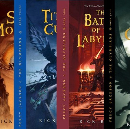 Percy Jackson and the Olympians - Rick Riordan 21