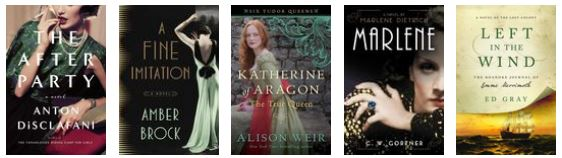 New releases: May 2016 - historical fiction 1