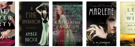 New releases: May 2016 - historical fiction 27