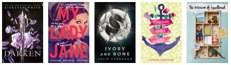 New releases: June 2016 - young adult 6