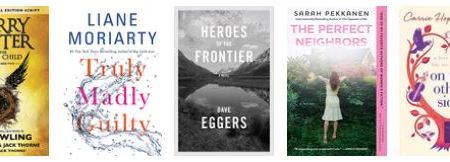 New releases: July 2016 - fiction 9