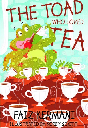 Giveaway: The Toad Who Loved Tea - Faiz Kermani 3