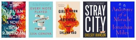 New releases: March 2018 – fiction 18