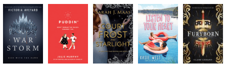 New releases: May 2018 - young adult 3