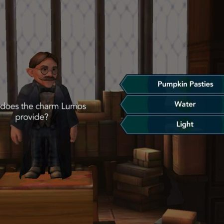 Game: Hogwarts Mystery - questions in class 3