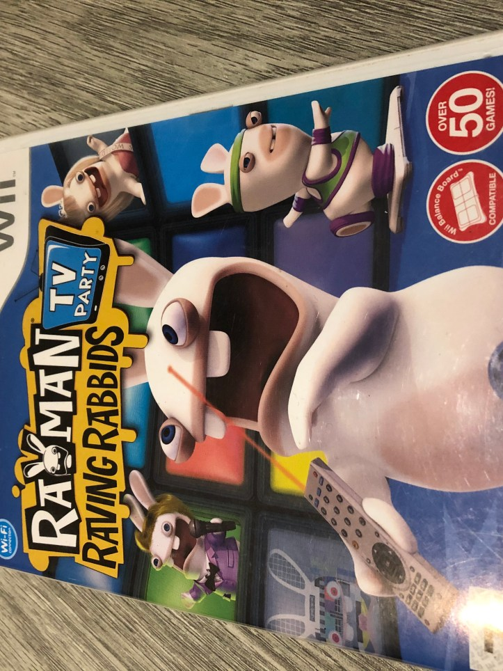 FACTS Wii game Rayman Rabbids