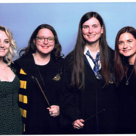 Comic Con Evanna Lunch & Bonnie Wright