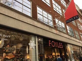 Foyles bookstore