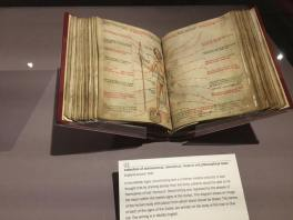 Astronomical text book from 1400's