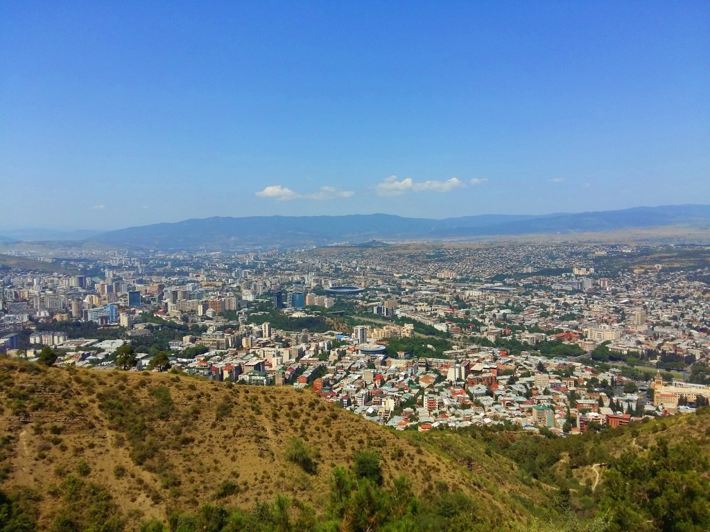 mtatsminda park in tbilisi