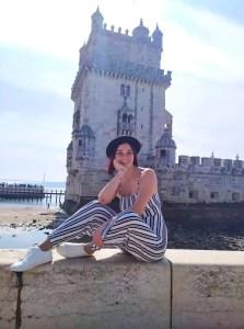 Belem Towe, famous landmark in Lisbon