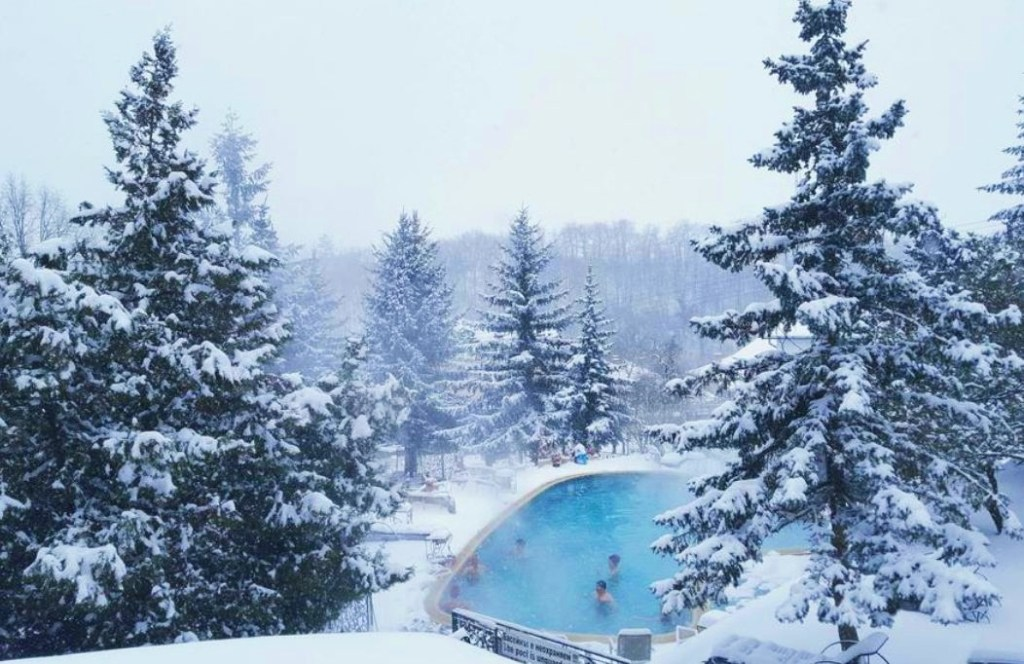 things to do in bulgaria in winter, soak in the thermal springs