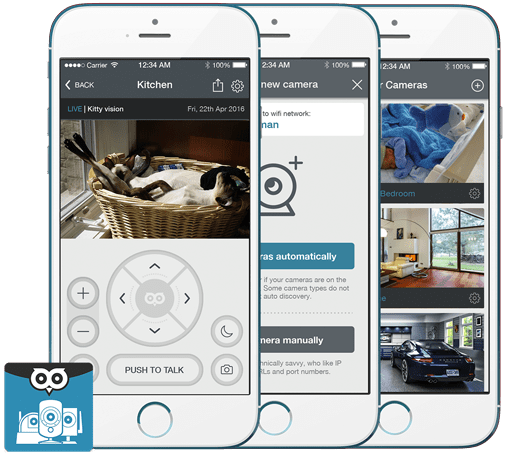 D-Link IP Camera Viewer from OWLR
