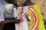 トルコの才能たっぷりの絵描きさんの動画