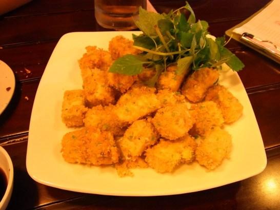 ベトナムご飯:揚げ豆腐