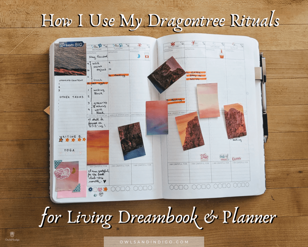 How I Use My Dragontree Rituals For Living Dreambook