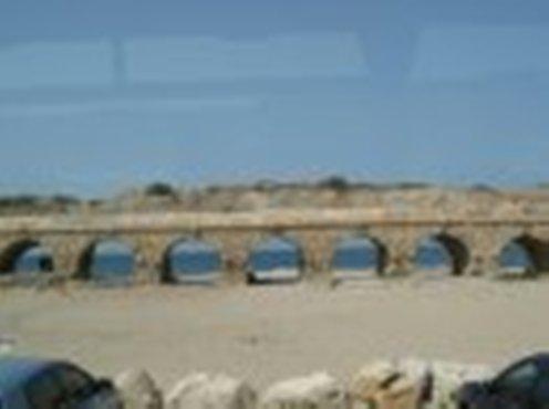 Roman Aqueduct and the Mediterranean, Caesarea