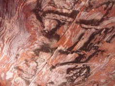 Amazing colours in the hand hewn caves