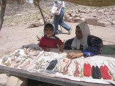 Bedouin women selling jewelry at Petra