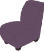 Rfc1394_Purple_armless_chair