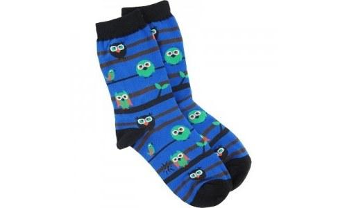 Owl Watch Crew Socks