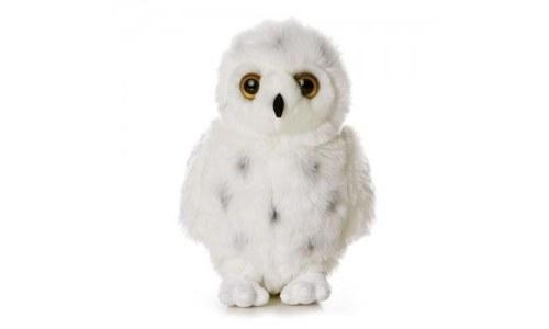 12 Inch Snowy Flopsie Owl Stuffed Animal