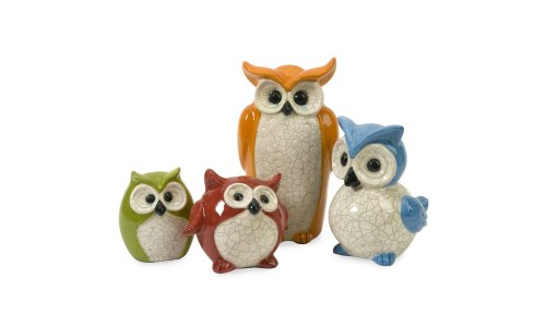 IMAX Enchanted Owls Figurine