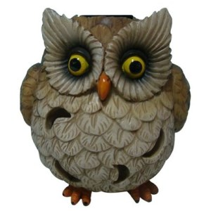 Welland Owl Garden Statue With Solar Light !