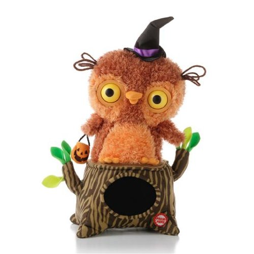 Hallmark Whoos Watching Me Singing Interactive Owl Plush