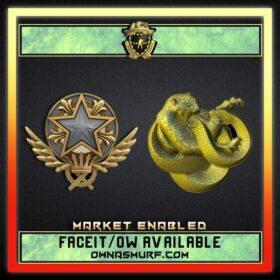 MG Rank Single Medal Account