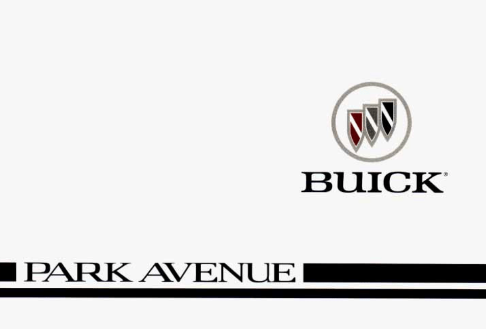 1996 Buick Park Avenue Owner's Manual [Sign Up & Download