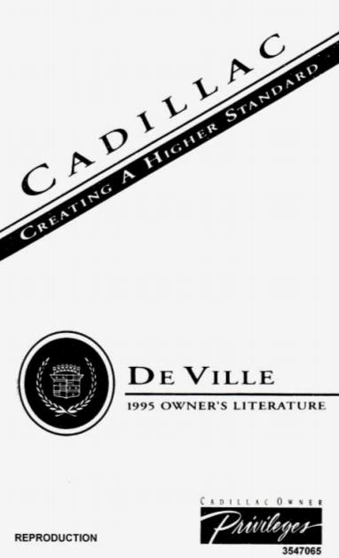 1995 Cadillac Pdf Manua Pdf : Fiat Punto 1995 176 1 G