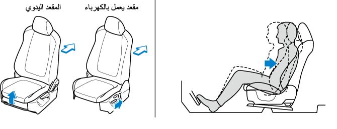 تعديل ارتفاع المقعد