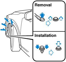 Turn the socket and bulb assembly anticlockwise and remove it.