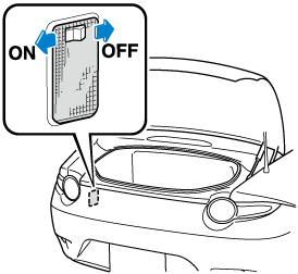 To prevent the battery from being discharged, do not leave