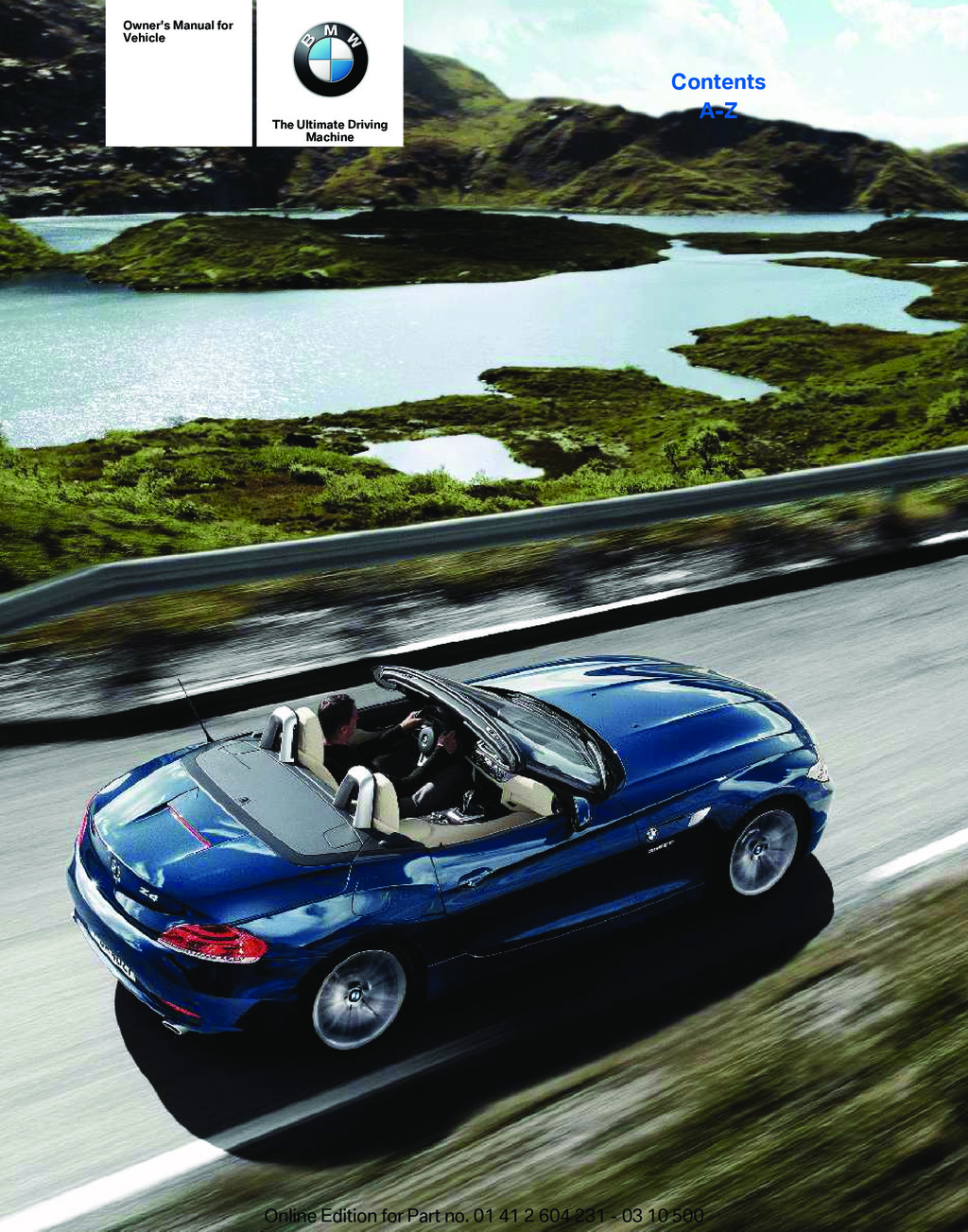 hight resolution of 2011 bmw z4 owner s manual