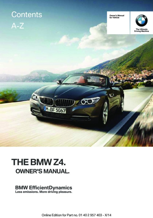 small resolution of 2016 bmw z4 owner s manual