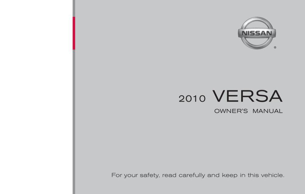 medium resolution of 2010 nissan versa owner s manual