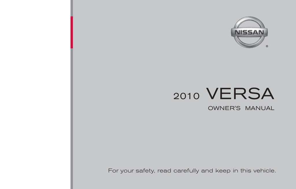 hight resolution of 2010 nissan versa owner s manual
