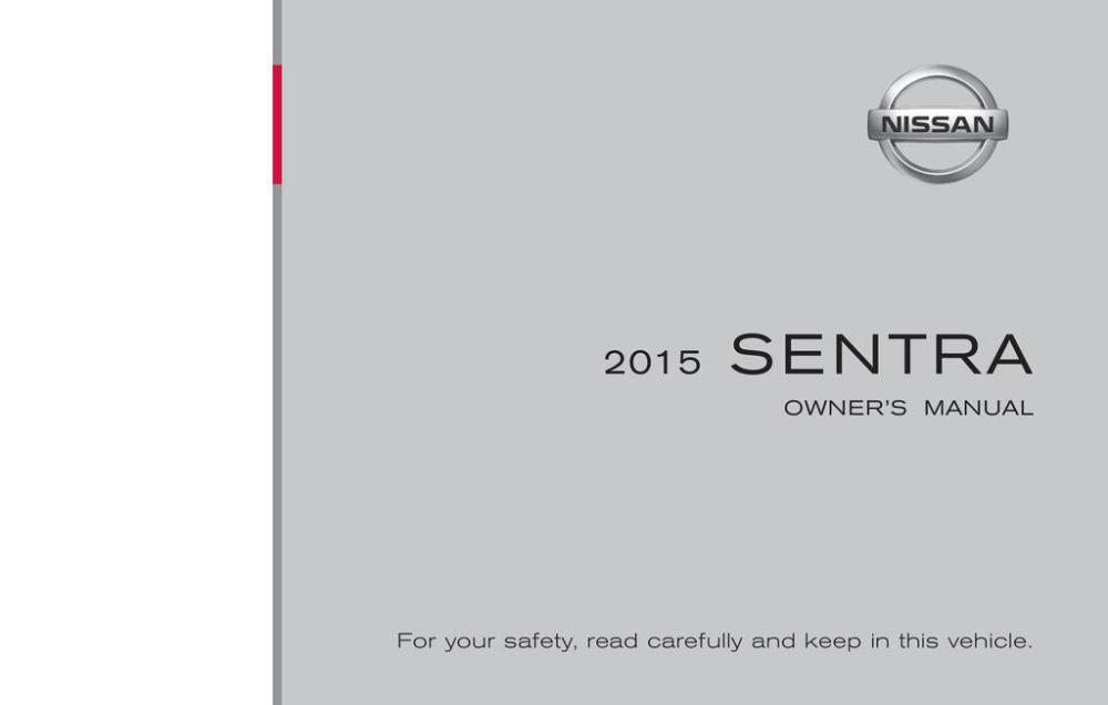 medium resolution of 2015 nissan sentra owner s manual