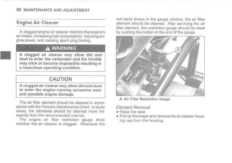 medium resolution of 2007 kawasaki mule 3010 4x4 owner s manual page 92