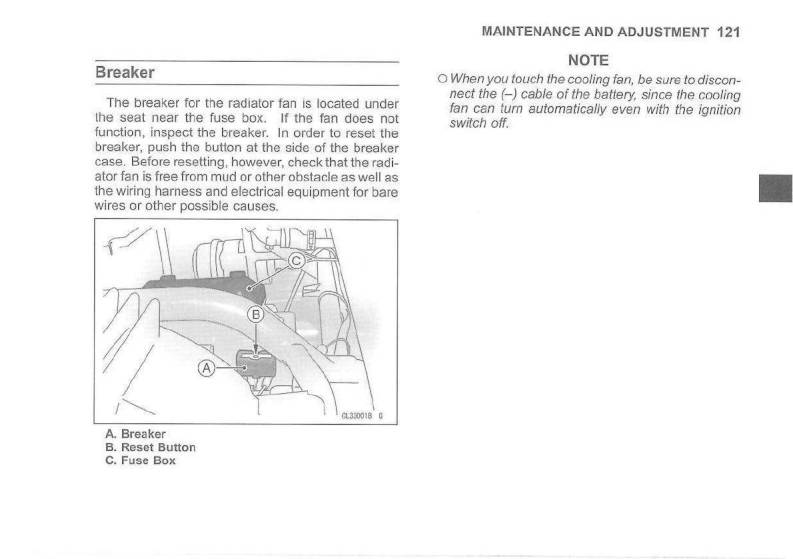 medium resolution of 2007 kawasaki mule 3010 4x4 owner s manual page 123