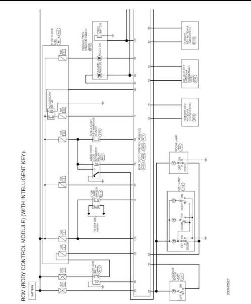 small resolution of 2009 nissan cube wiring diagram