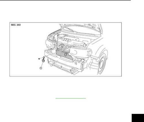 small resolution of 2009 nissan cube repair manual horn section hrn page 5