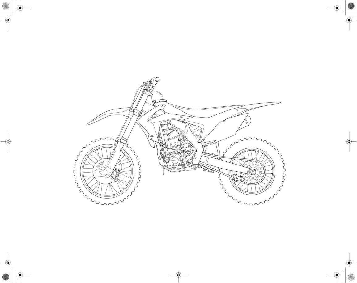 2014 Honda CRF250R – Owner's Manual – Page #3